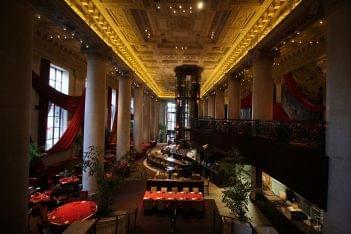 Del Frisco's Double Eagle Steak House Philadelphia, PA dining hall