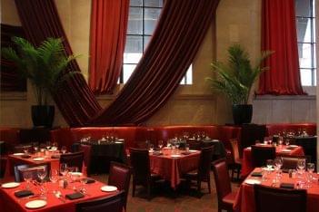 Del Frisco's Double Eagle Steak House Philadelphia, PA dining tables seats
