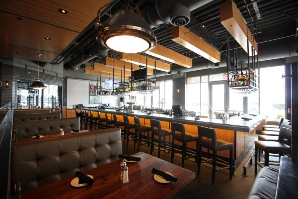 Del Frisco's Grille Hoboken, NJ Steakhouse Restaurant bar