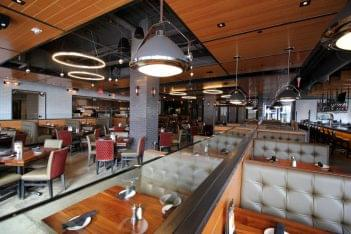Del Frisco's Grille Hoboken, NJ Steakhouse Restaurant dining area