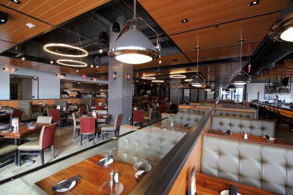 Del Frisco's Grille Hoboken, NJ Steakhouse Restaurant dining area