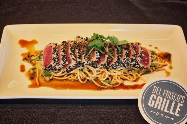 Del Frisco's Grille Pasadena, CA Steakhouse Restaurant ahi tuna