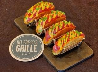 Del Frisco's Grille Pasadena, CA Steakhouse Restaurant tacos