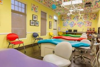Pediatric & Adolescent Dentistry Hoover, AL main exam room