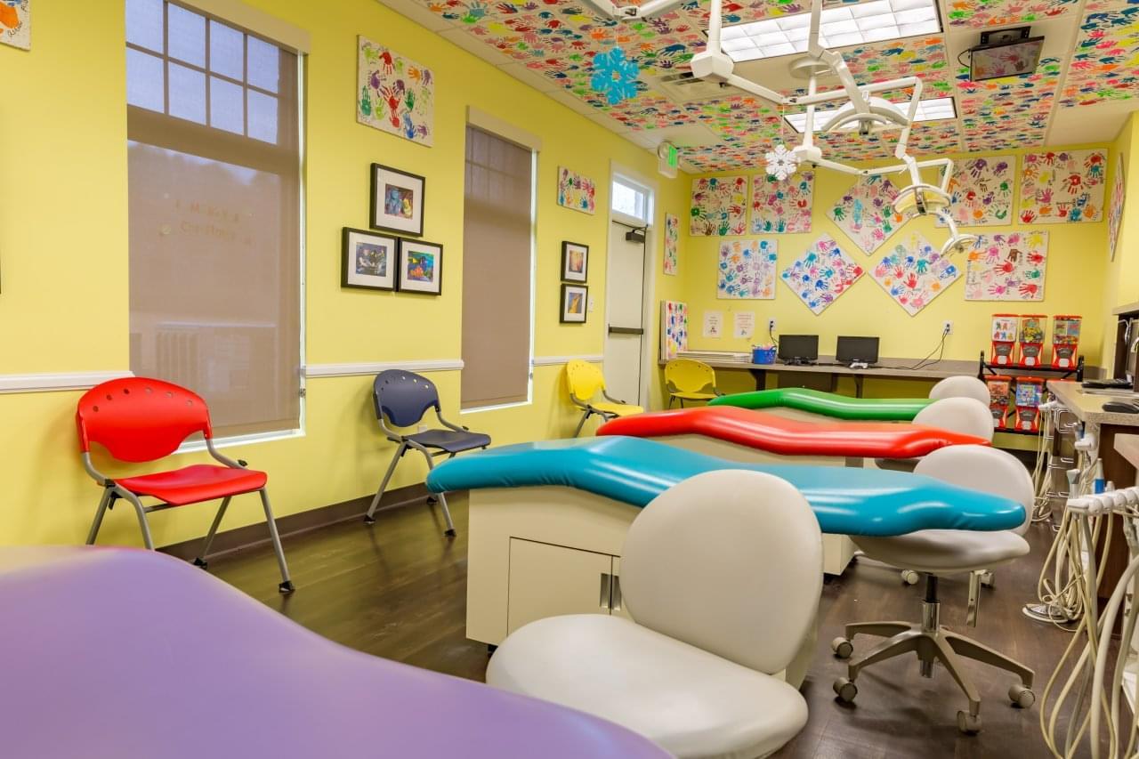 Pediatric & Adolescent Dentistry Hoover, AL main exam room