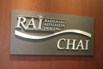 Radiology Affiliates Imaging Hamilton Township, NJ Diagnostic Center sign logo