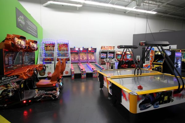 Speed Raceway Horsham, PA Go-Kart Track arcade
