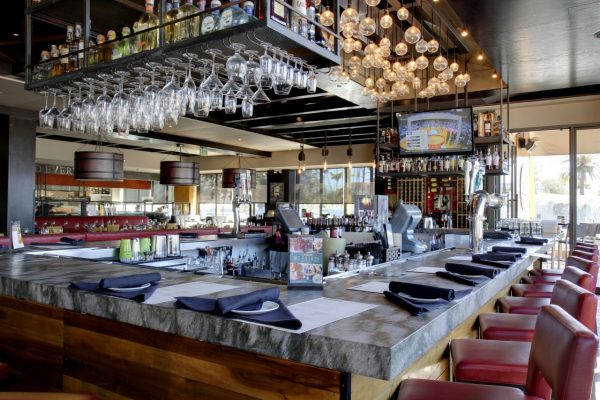 Del Frisco's Grille Santa Monica, CA Steak House Restaurant bar