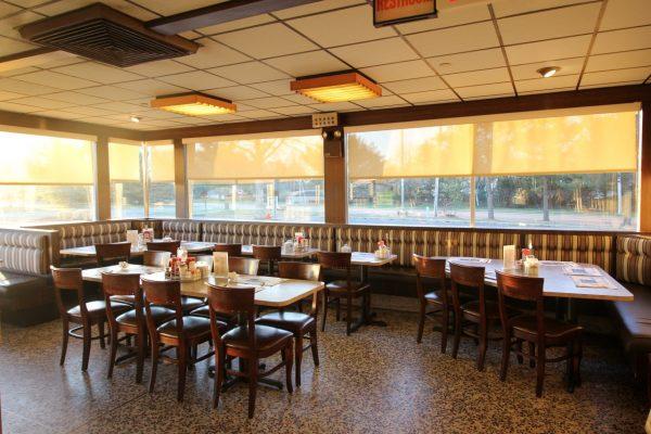 Medport Diner & Restaurant Medford, NJ tables