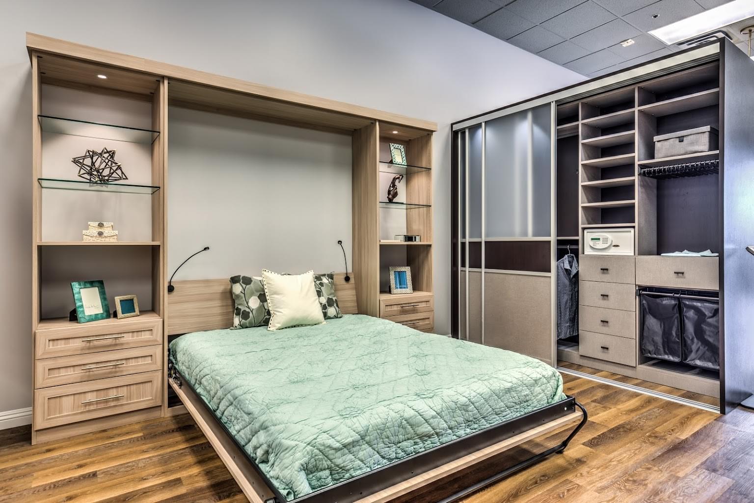 California closets murphy bed - California Closets Centennial Center Blvd Las Vegas Nv Cabinet Maker Murphy Bed