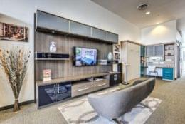 California Closets Grand Canyon Dr, Las Vegas, NV Cabinet Maker entertainment shelves