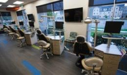 Nalchajian Orthodontics Clovis, CA Dental Office dentist chairs