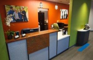 Nalchajian Orthodontics Clovis, CA Dental Office Reception Front Desk