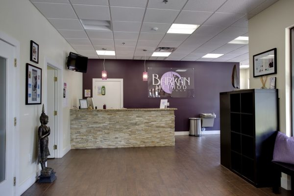 The Barkan Method Boca Raton, FL Yoga Studio lobby desk