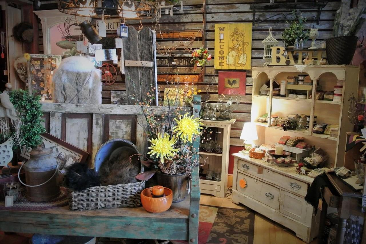 The Bent & Rusty Cotton Co. – Laramie, WY – See-Inside Antique Furniture Store