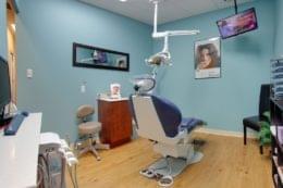 dental studio exam room