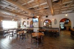 Dining-area-at-Santuccis-Original -Square-Pizza-pizzeria-at-Broad-Street-Philadelpia-PA