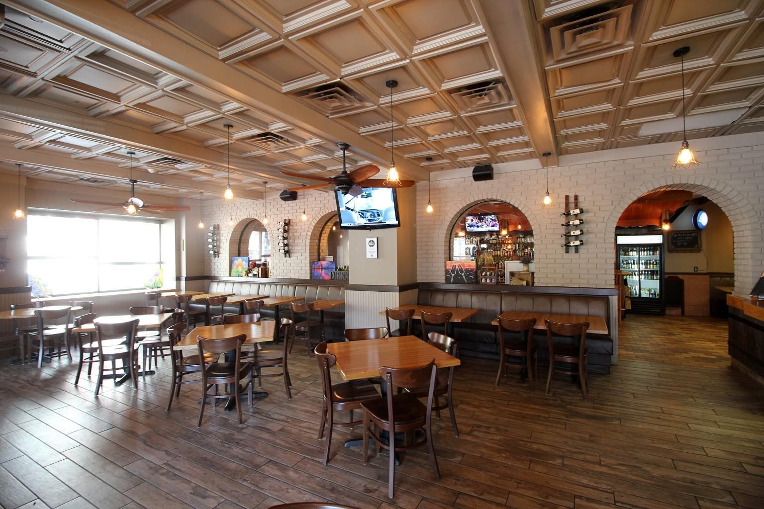 Santuccis Original Square Pizza Broad St – Philadelphia, PA – See-Inside Pizzeria