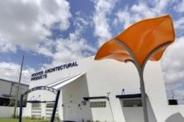 Exterior of Hoover Architectural Products and canvas awnings in west palm beach florida