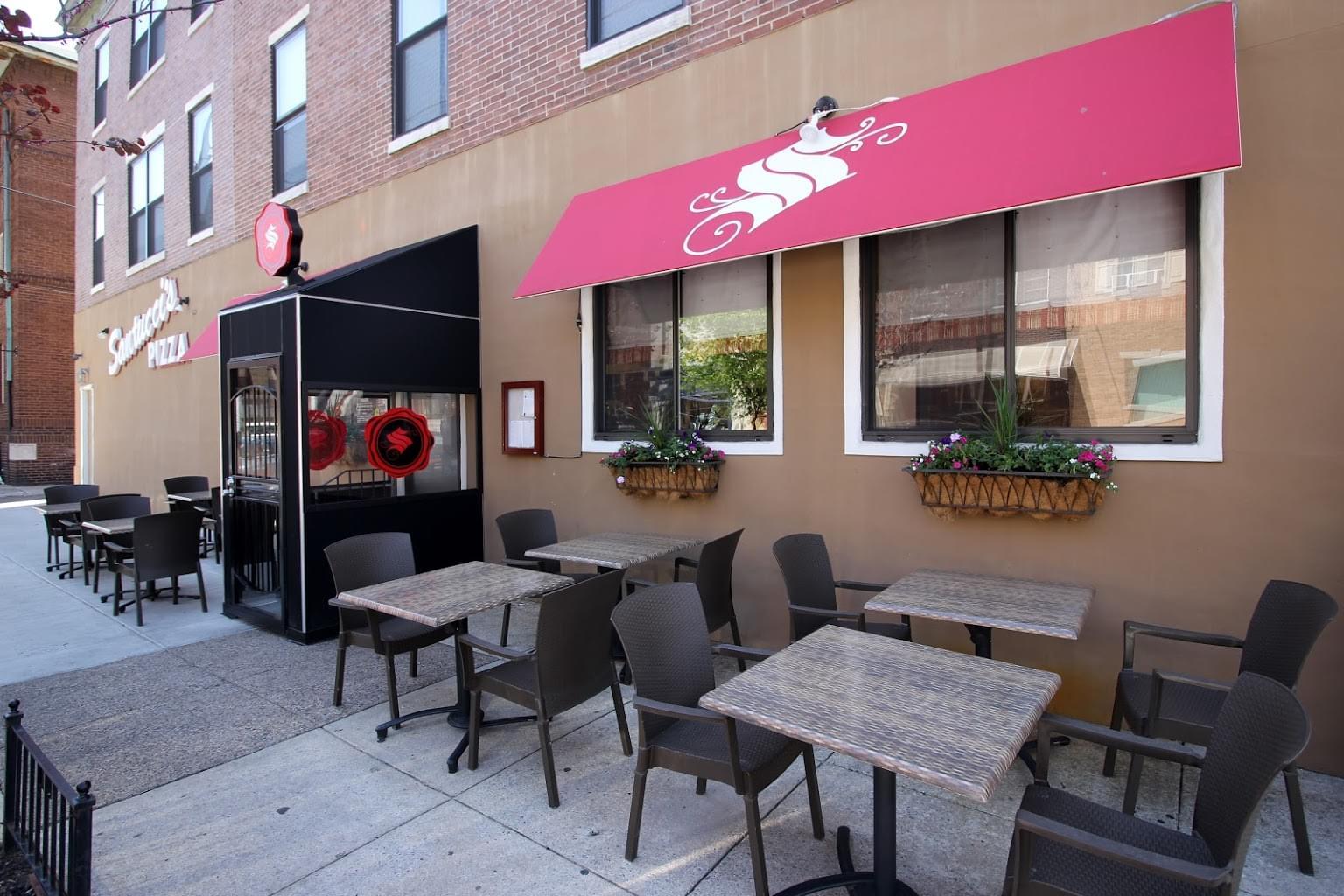 Santucci's Original Square Pizza Italian Market (Christian St) – Philadelphia, PA – See-Inside Pizzeria