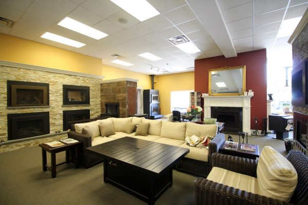 Halligan's Hearth and Home Malvern, PA Fireplace Store living room furniture