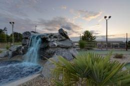 Mr. Putty's Fun Park Tega Cay, SC Miniature Golf Course waterfall