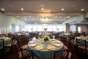 Yacht Club of Stone Harbor NJ Banquet Hall