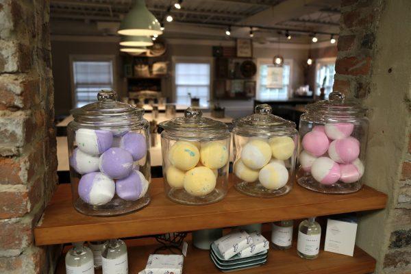AR Workshop Alexandria, VA Event Venue colored eggs in jars