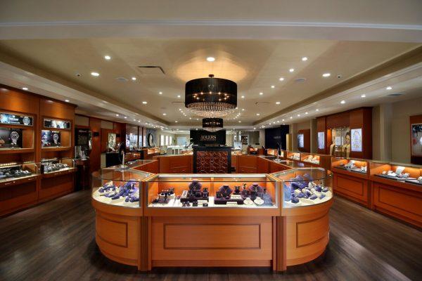 Adlers Jewelers Westfield, NJ Jewelry Store interior display
