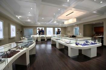 Adlers Jewelers Westfield, NJ Jewelry Store interior display verragio