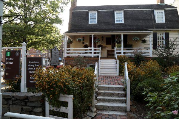 Alexandria Visitor Center Alexandria, VA Tourist Information Center exterior