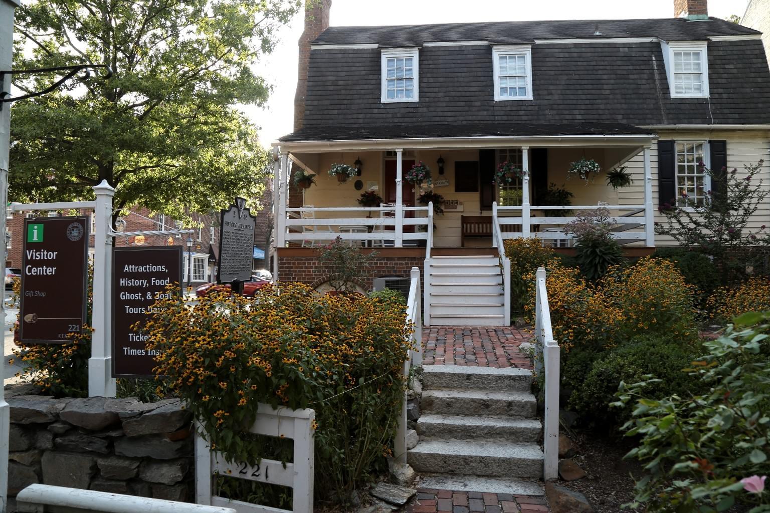 Alexandria Visitor Center – Alexandria, VA – See-Inside Tourist Information Center