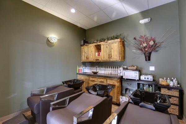 Aspen Grove Salon & Spa Castle Rock, CO Hair Salon hair wash station