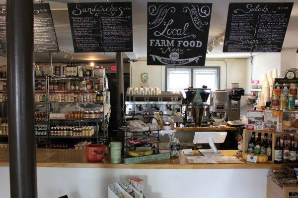 Bon Vivant Cafe + Farm Market Alexandria, VA Cafe Market counter