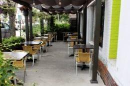 Bon Vivant Cafe + Farm Market Alexandria, VA Cafe outdoor tables