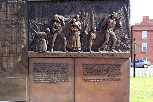 Contrabands and Freedmen Cemetery Alexandria, VA Historical Landmark slavery freedom