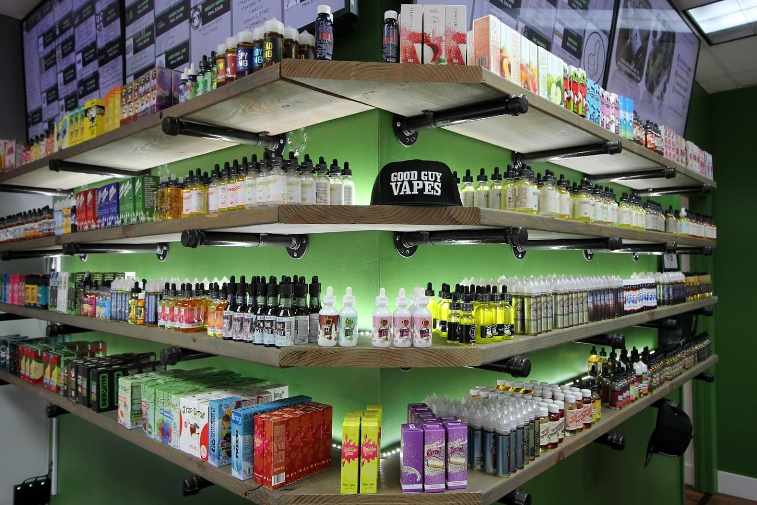 Good Guy Vapes – Clifton, NJ – See-Inside Vaporizer Store