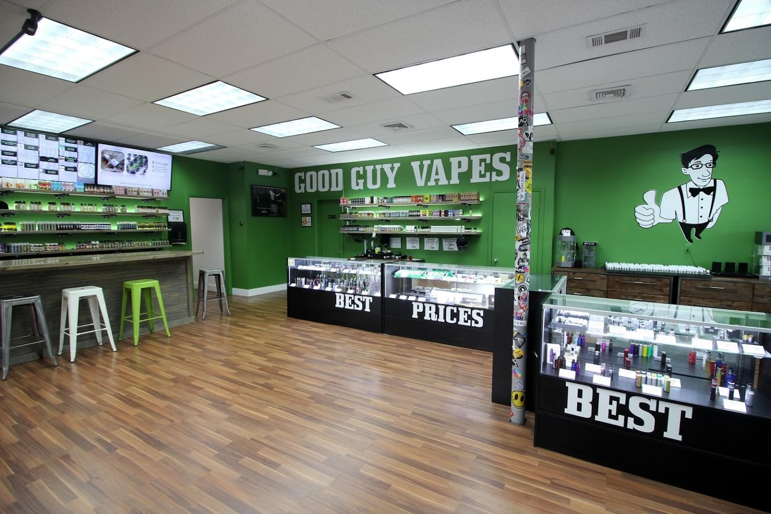 Good Guy Vapes - Clifton, NJ - See-Inside Vaporizer Store