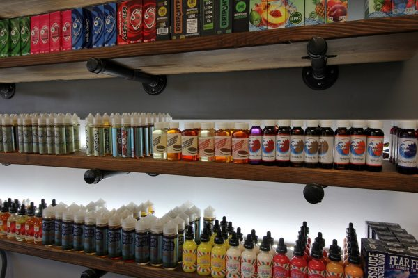 Good Guy Vapes East Brunswick, NJ Vaporizer Store display flavors
