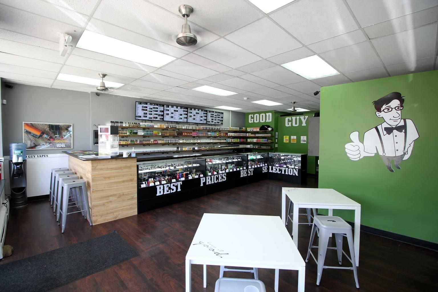Good Guy Vapes – Hopatcong, NJ – See-Inside Vaporizer Store