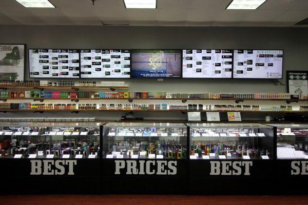 Good Guy Vapes Parsippany, NJ Vaporizer Store counter display