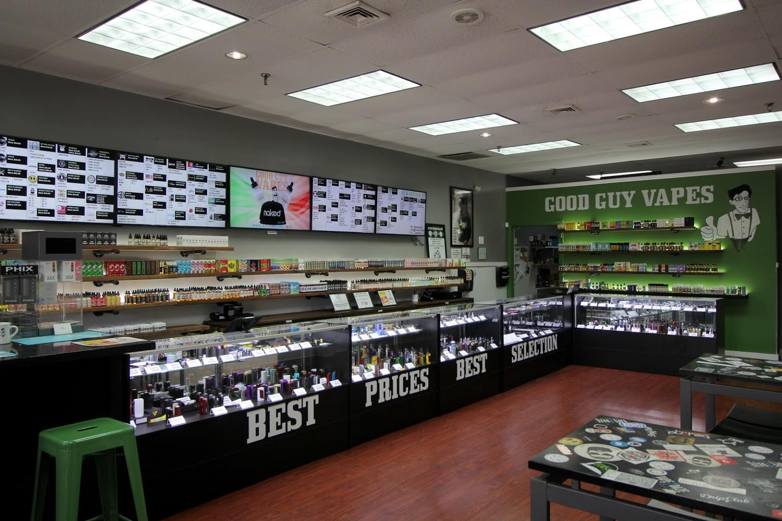 Good Guy Vapes – Parsippany, NJ – See-Inside Vaporizer Store
