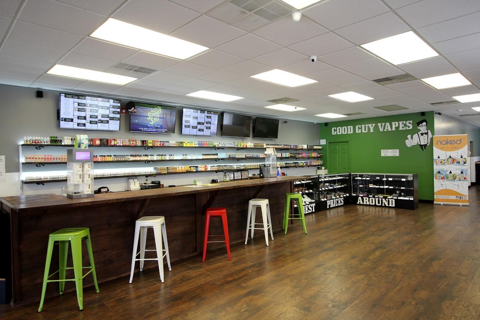 Good Guy Vapes – Pompton Lakes, NJ – See-Inside Vaporizer Store