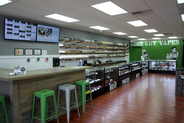 Good Guy Vapes Rockaway, NJ Vaporizer Store interior