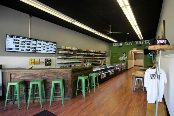 Good Guy Vapes Union, NJ Vaporizer Store interior