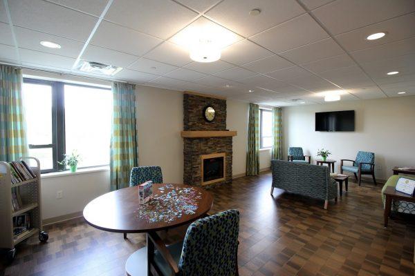 Homestead Rehabilitation and Health Care Center Newton, NJ Rehabilitation Center recreation room