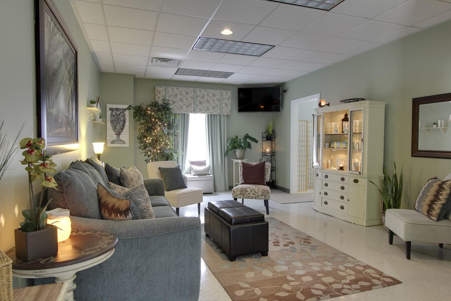 Palmetto Med Spa Ladson, SC Spa waiting room