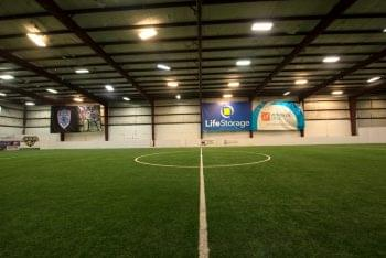 Resolute Athletic Complex Columbus, OH Sports Club indoor field