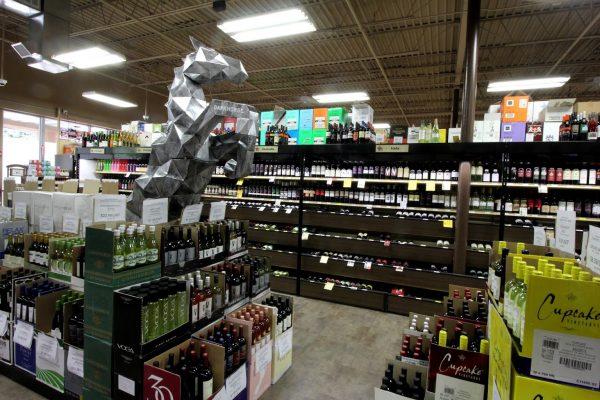 Wine Warehouse of Gloucester Twp, NJ Liquor Store horse statue