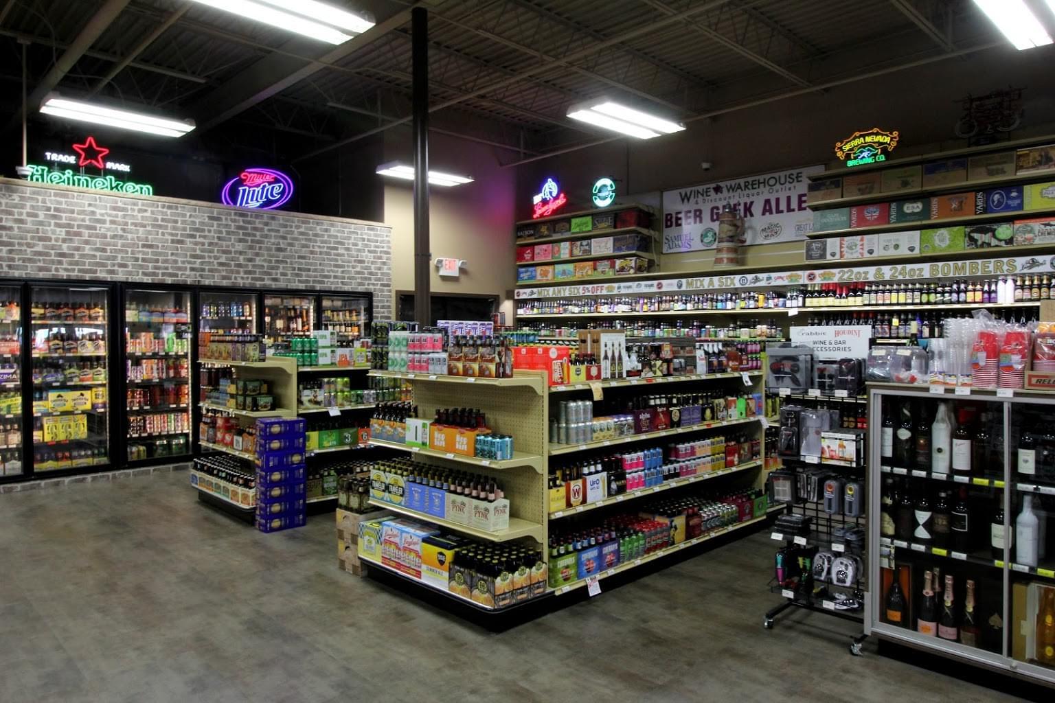 Wine Warehouse of Gloucester Twp, NJ – See-Inside Liquor Store
